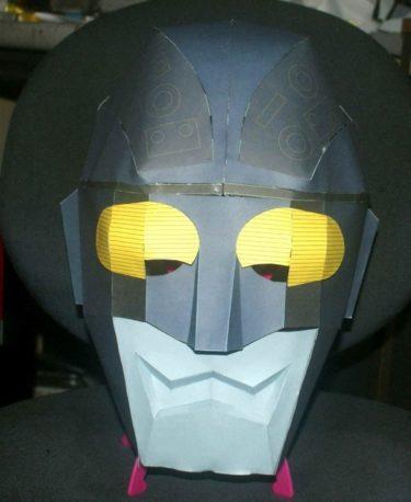 仮面youtuber用マスク作ります